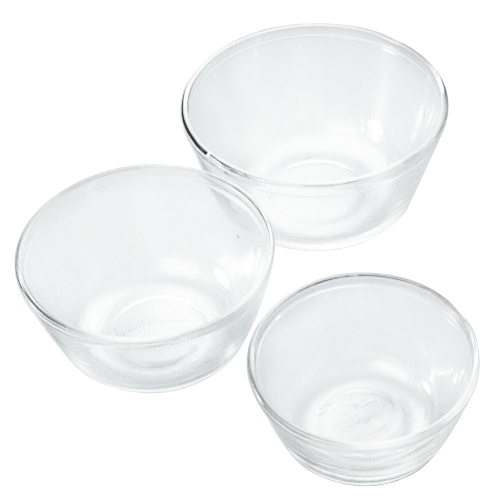 Anchor Hocking 3-Piece Glass Mixing Bowl Set