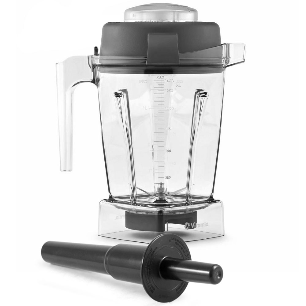Vitamix Black Wet Blade BPA Free Blender Container with Lid, 48 Ounce