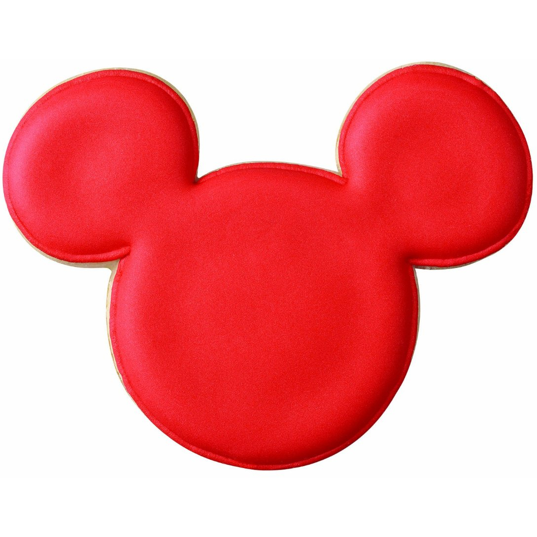 Wilton Disney Mickey Mouse 2 Piece Cookie Cutter Set