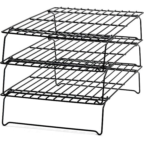 Wilton Metal Nonstick 3-Tier Stackable Cooling Rack