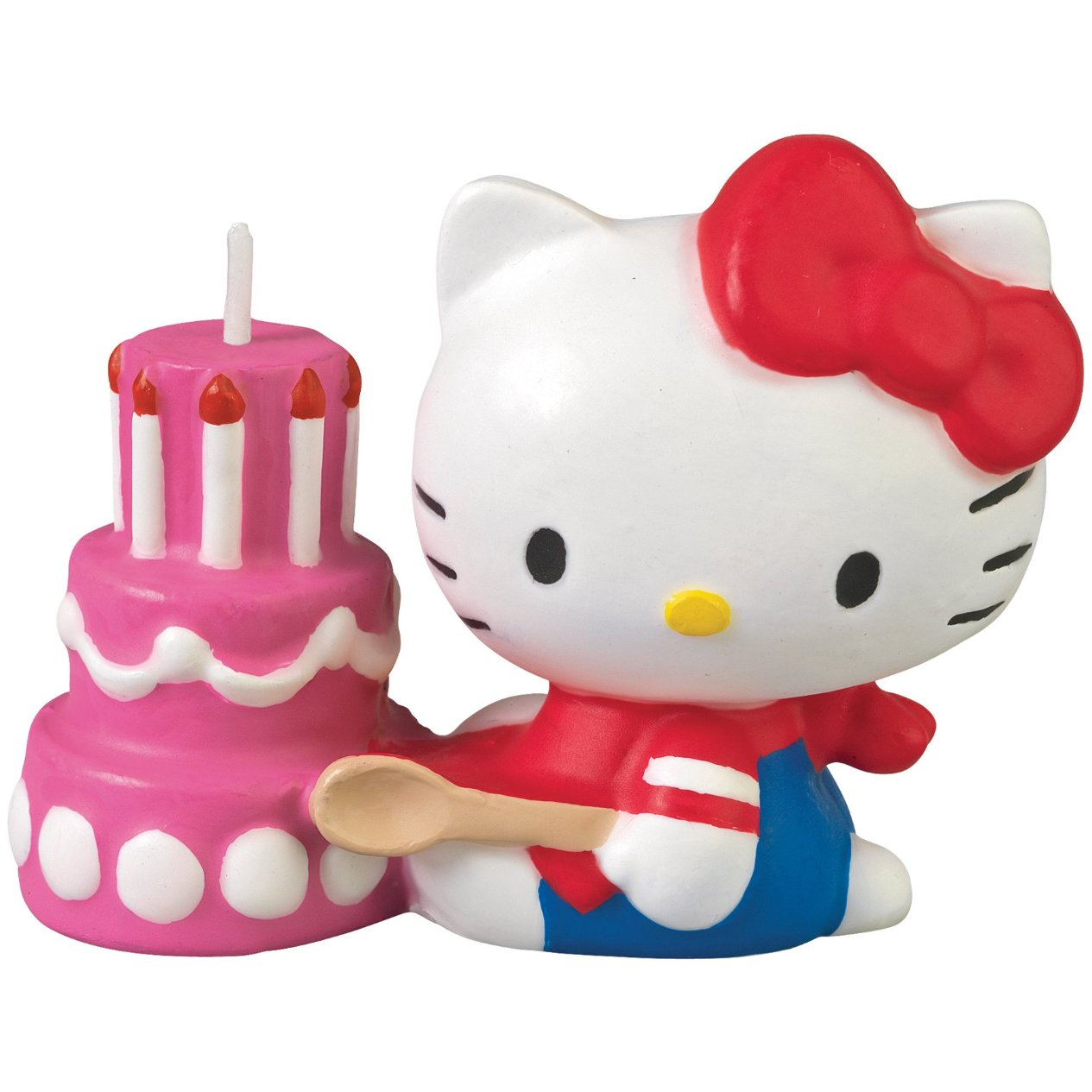 Wilton Hand Painted Hello Kitty Candle Cake Topper