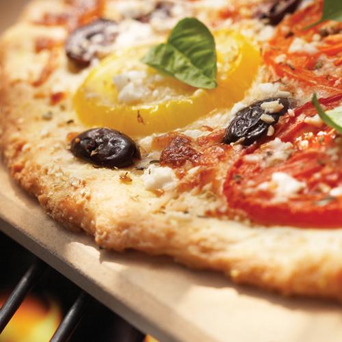 Fox Run Natural Rectangular Pizza Grill Stone, 16.5 Inch