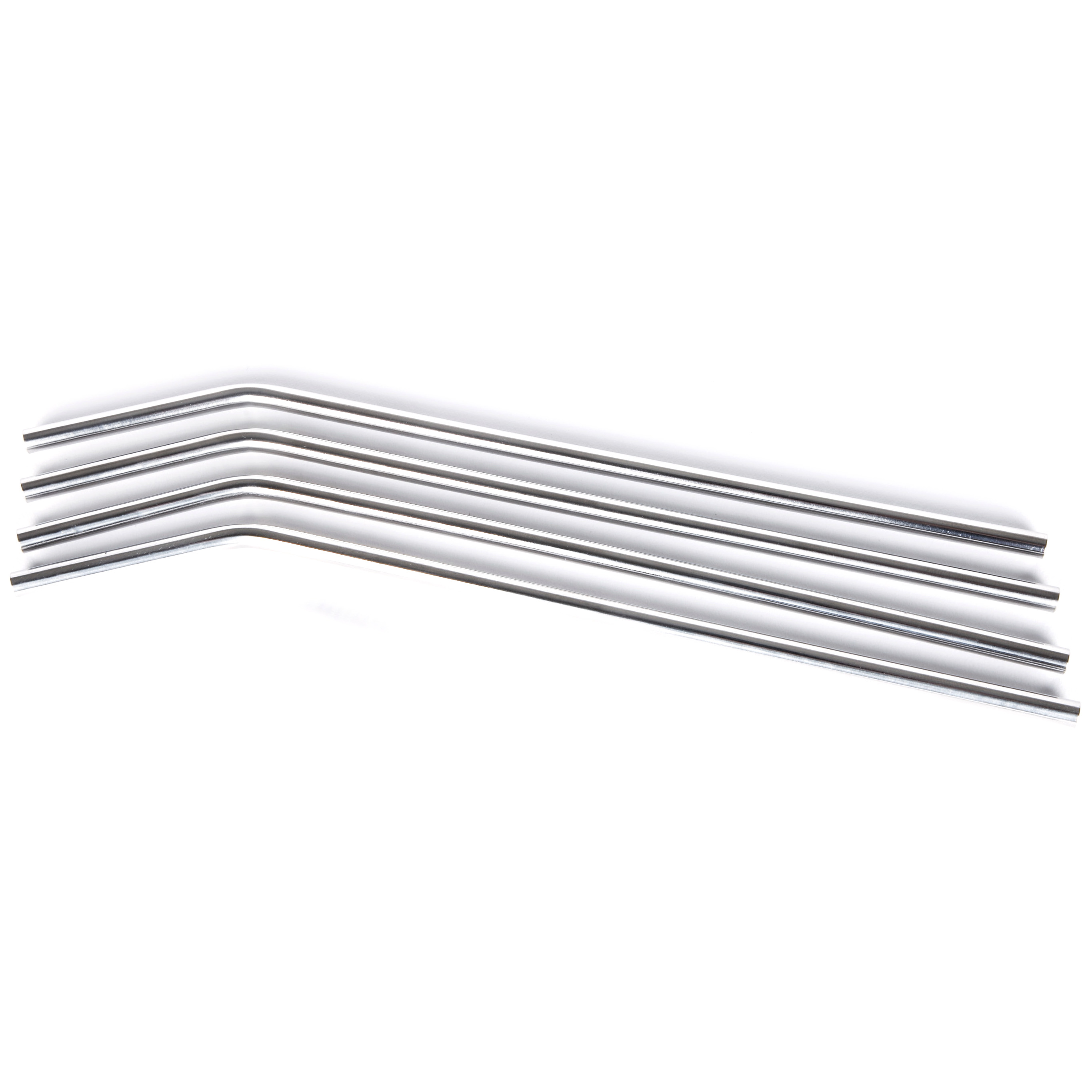 Onyx 18/8 Stainless Steel 4 Piece Small Straw Set