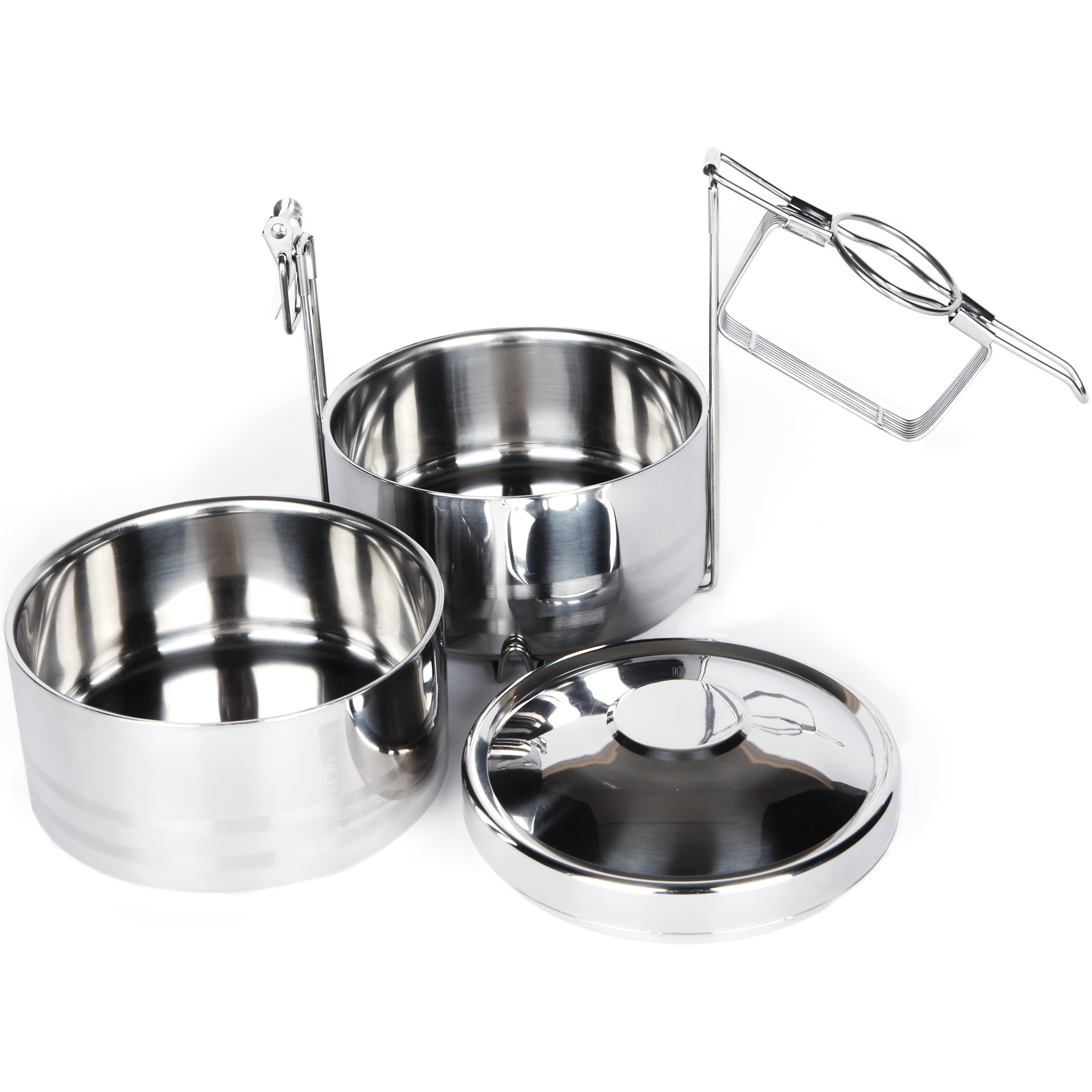 Onyx 18/10 Stainless Steel 2-Layer Tiffin Food Storage Container