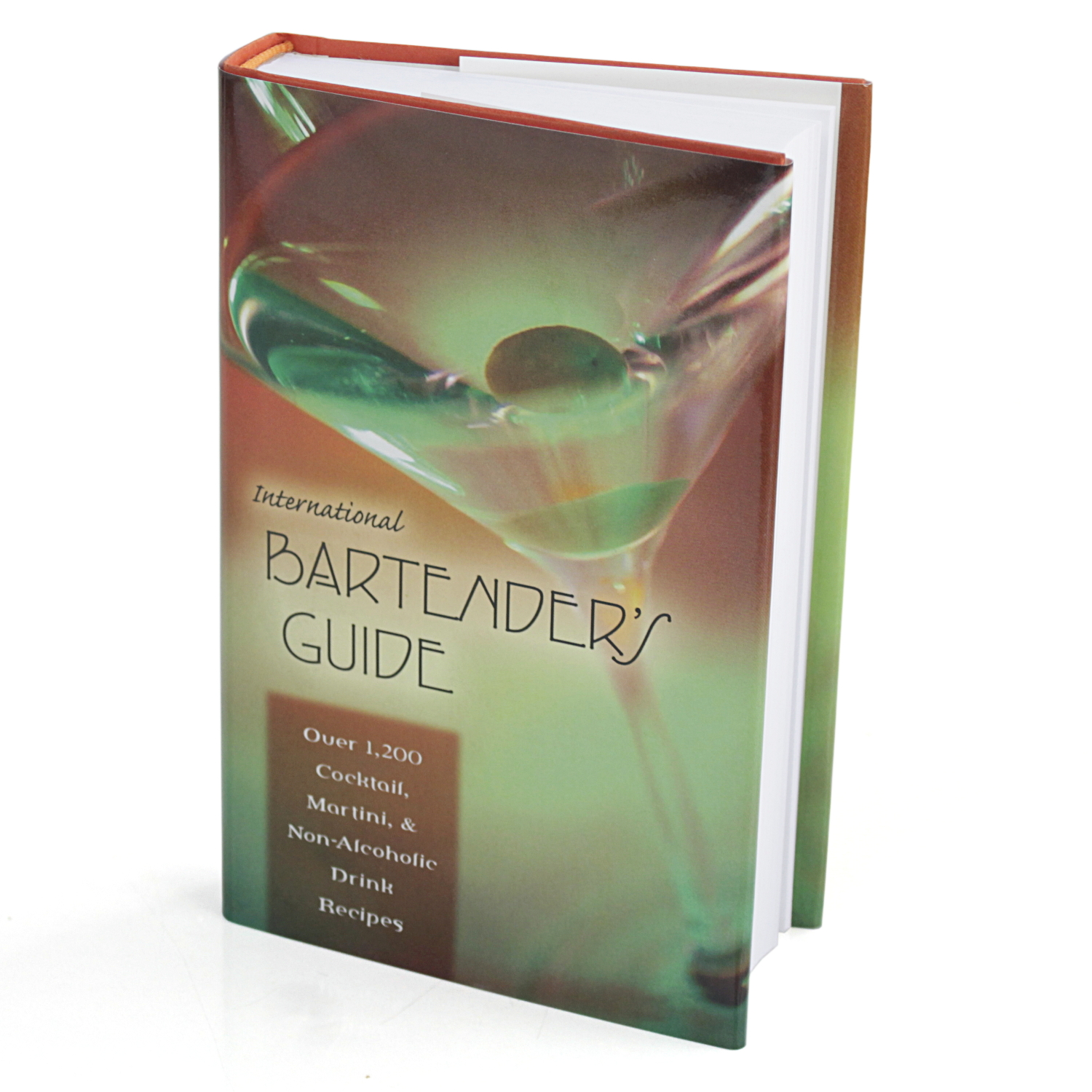 International Bartender's Guide Book with 1,200 Recipes