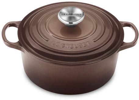 Le Creuset Signature Truffle Enameled Cast Iron Round French Oven, 4.5 Quart