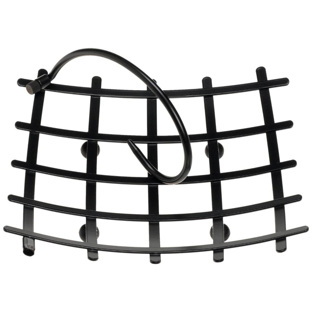 Prodyne Metalla Wave Stay Put Black Napkin Holder