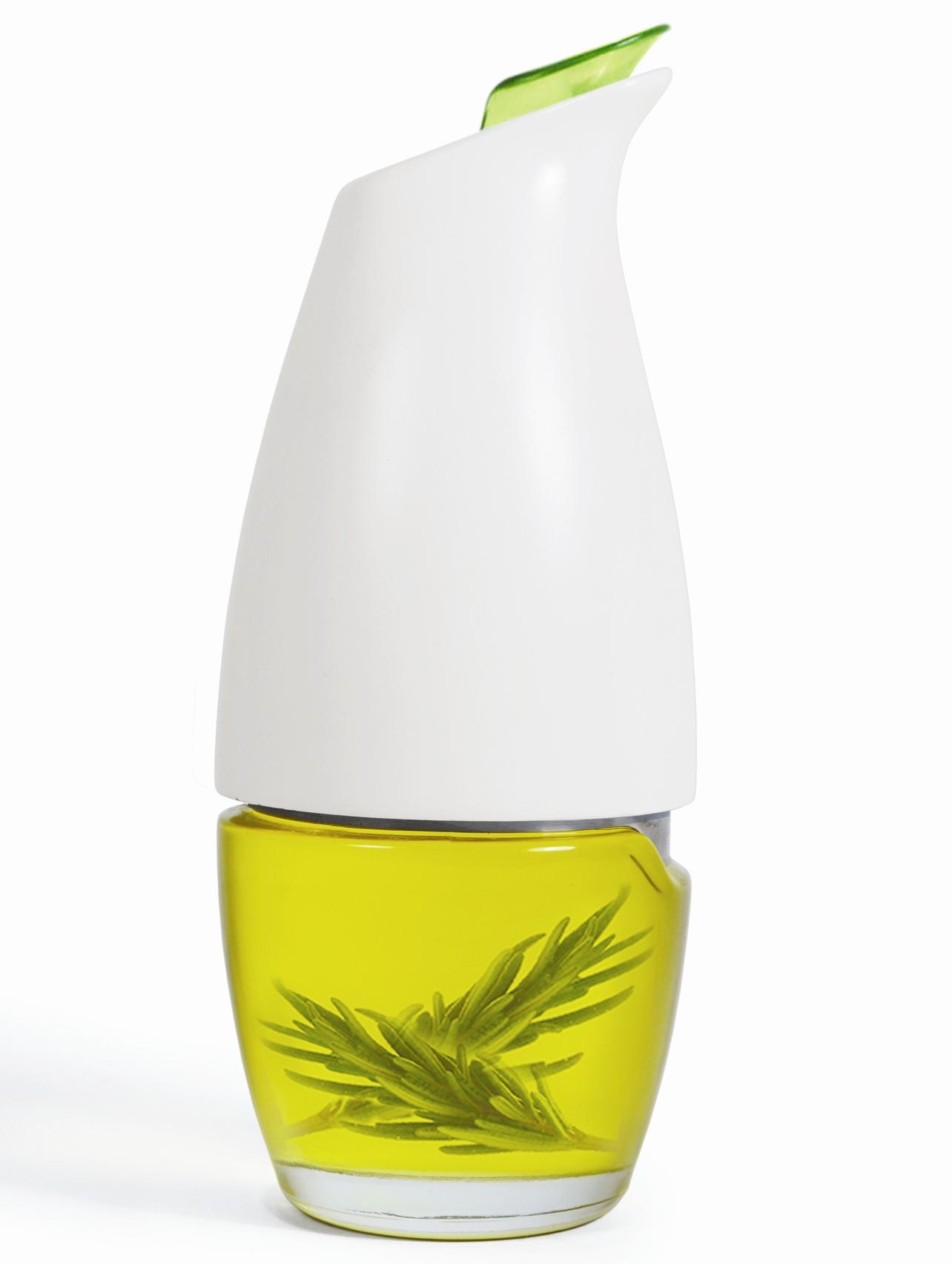 Prepara White Gourmet Oil Cruet, 5 Ounce