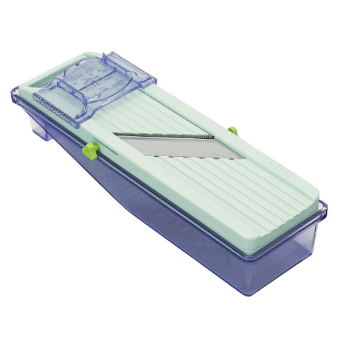Benriner Plastic Mandoline Slicer with Tray