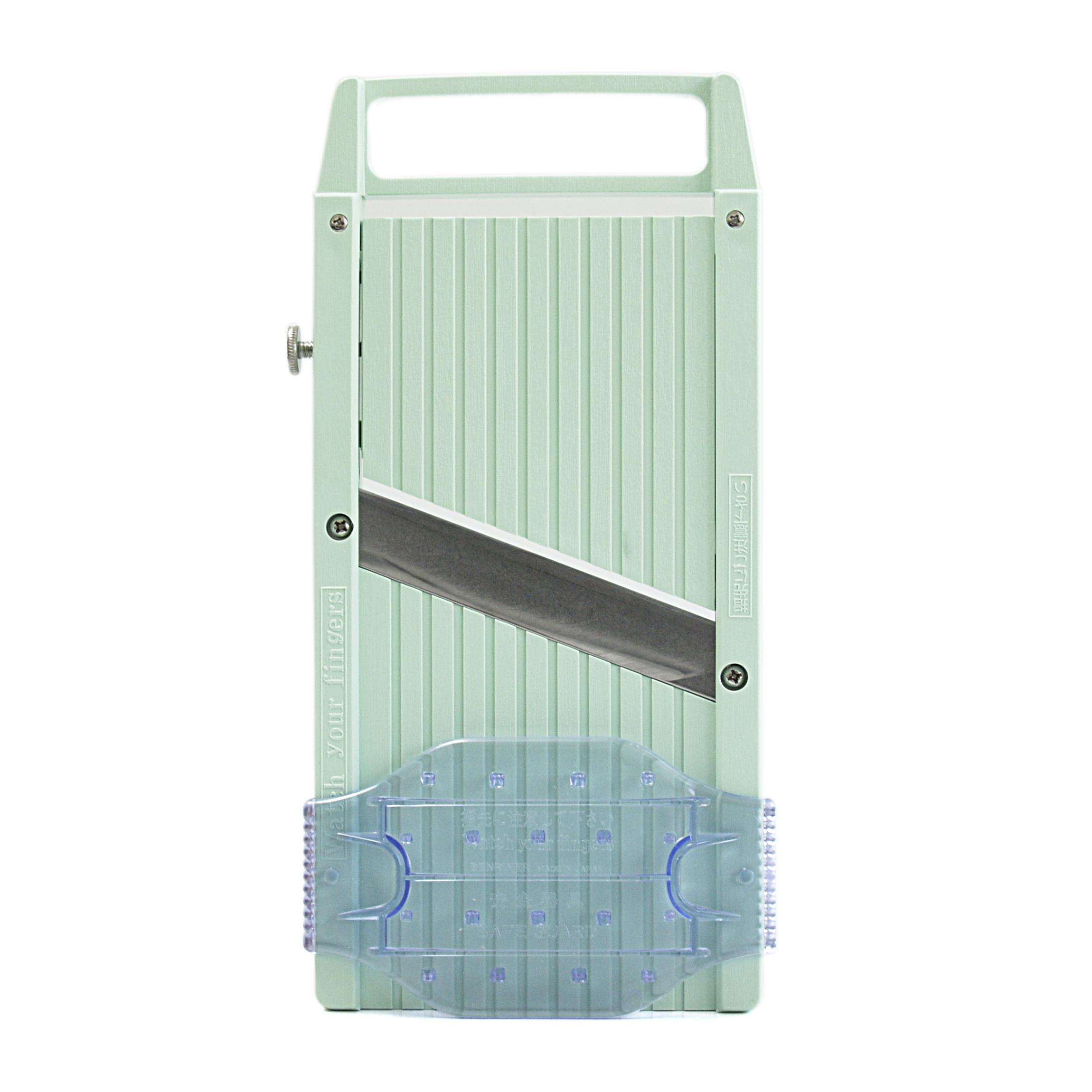 Benriner Mint Green Stainless Steel Mandoline Slicer
