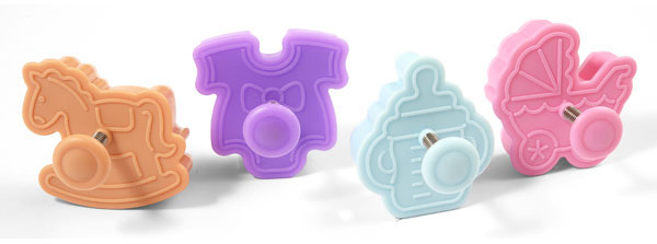 Silikomart Silicone Baby Mini Cookie Cutter Set