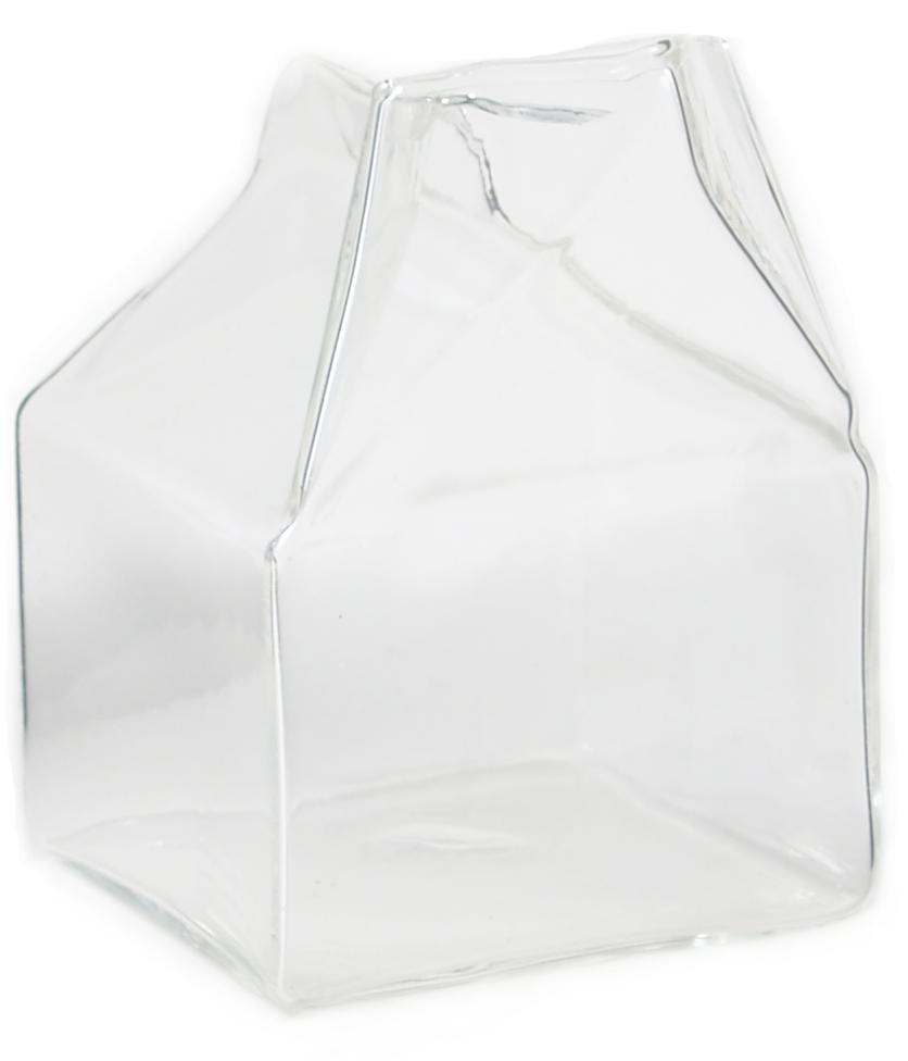 Borosilicate Glass Milk Carton, 1 Cup