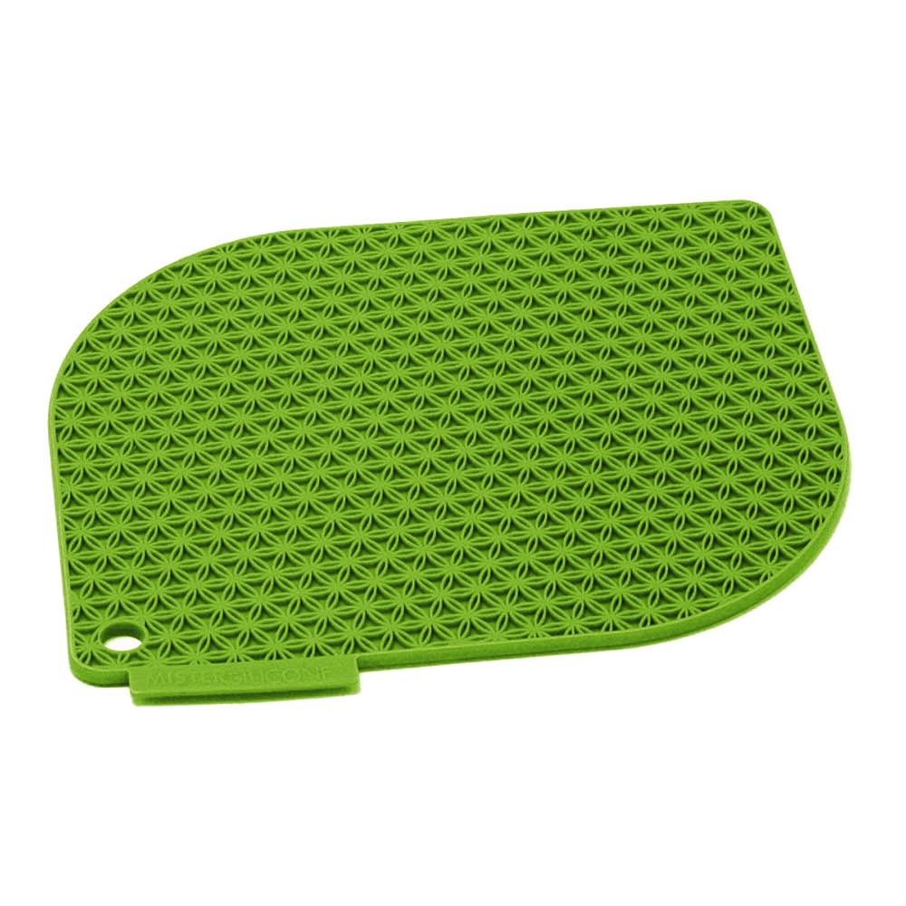 Charles Viancin Honeycomb Green Silicone Pot Holder