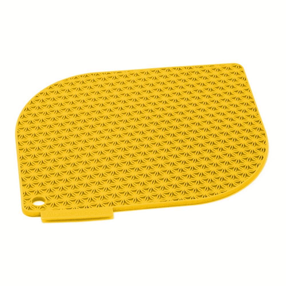 Charles Viancin Honeycomb Harvest Gold Silicone Pot Holder