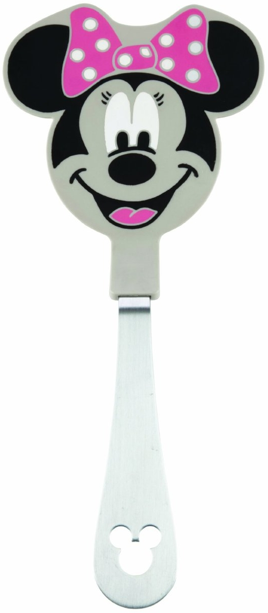 Disney Stainless Steel and Silicone Minnie Mouse Turner, 12 Inch