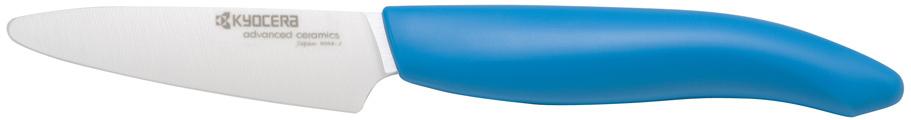 Kyocera Revolution Ceramic Paring Knife with Blue Handle, 3 Inch