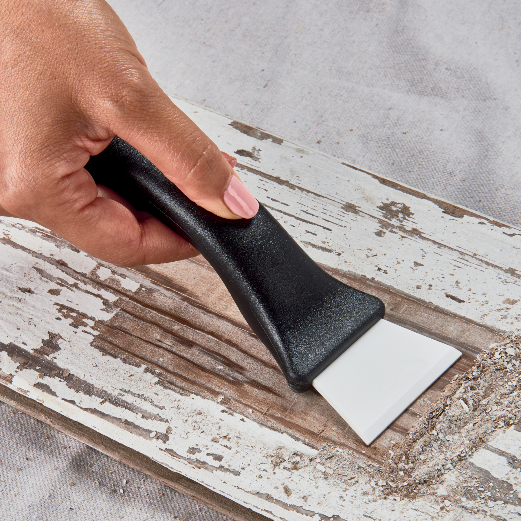 Kyocera Ceraplaner Black Ceramic Utility Grill Scraper