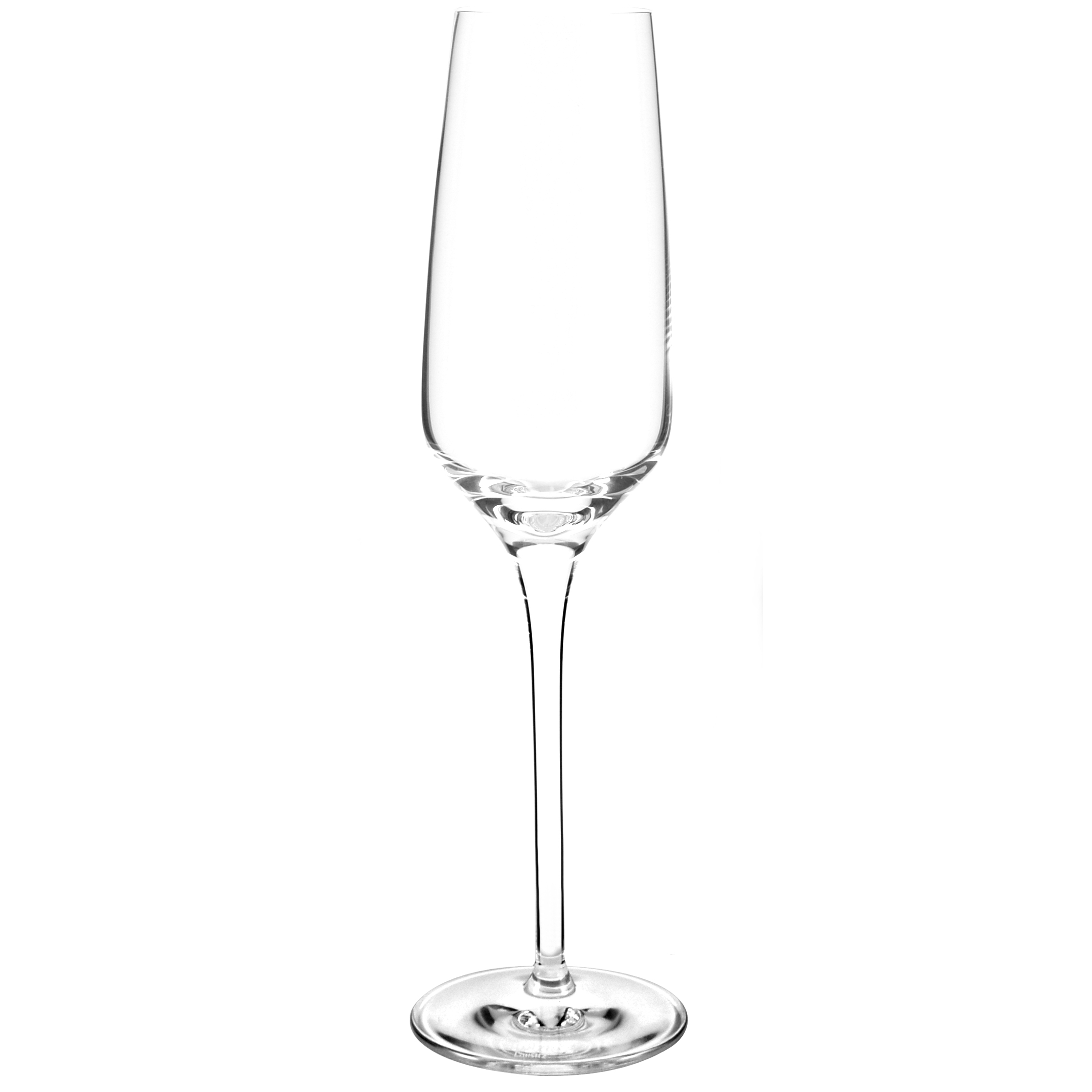 Stolzle Experience Crystal Champagne Flute, Set of 4