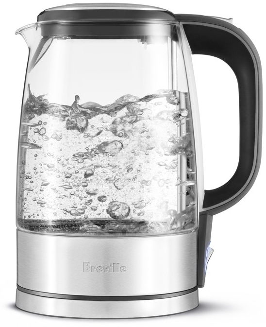 Breville Crystal Clear Glass Electric Kettle, 7 Cup