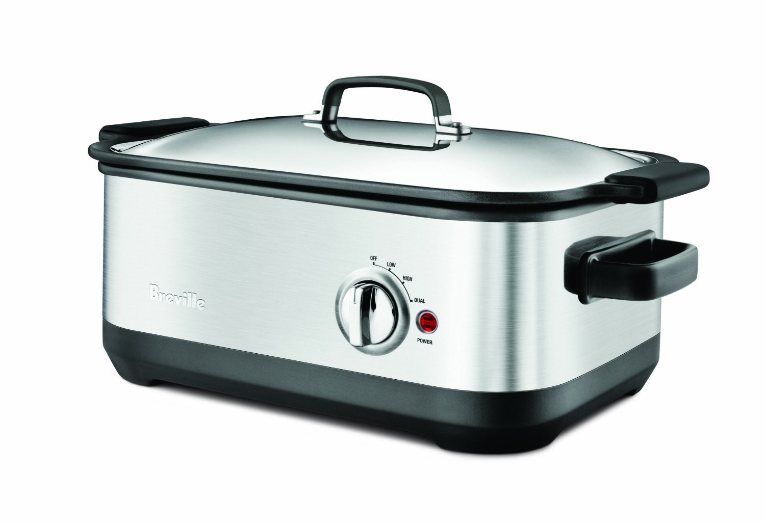 Breville Stainless Steel Fast Slow Cooker, 6 Quart