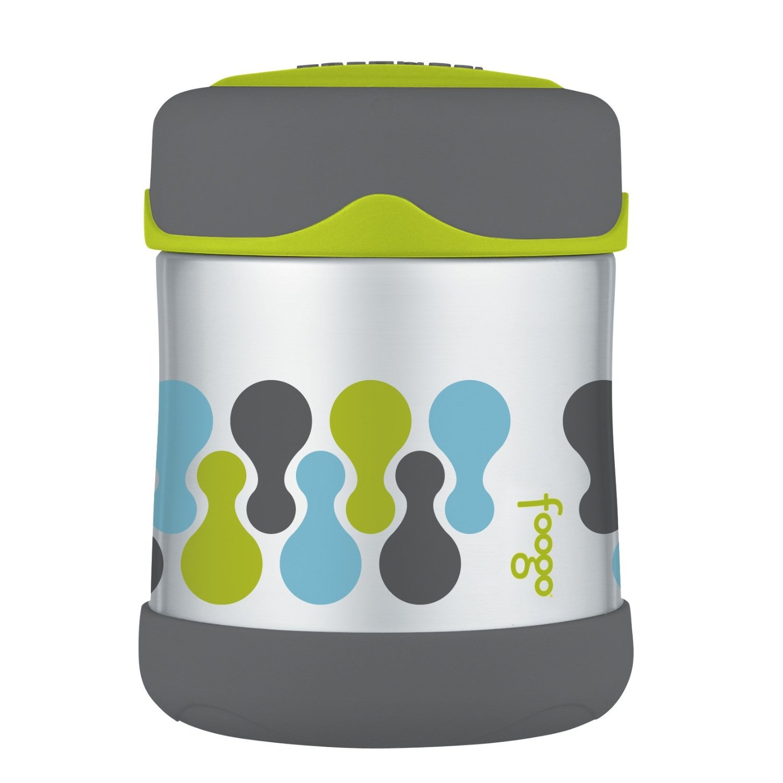 Thermos Foogo Tripoli Stainless Steel Leak-Proof Food Jar, 10 Ounce