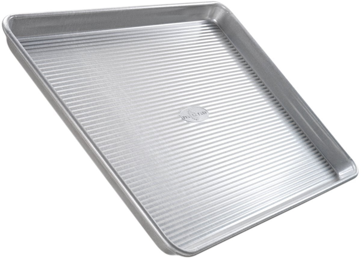 USA Pan Aluminized Steel Jellyroll Pan, 13 Inch