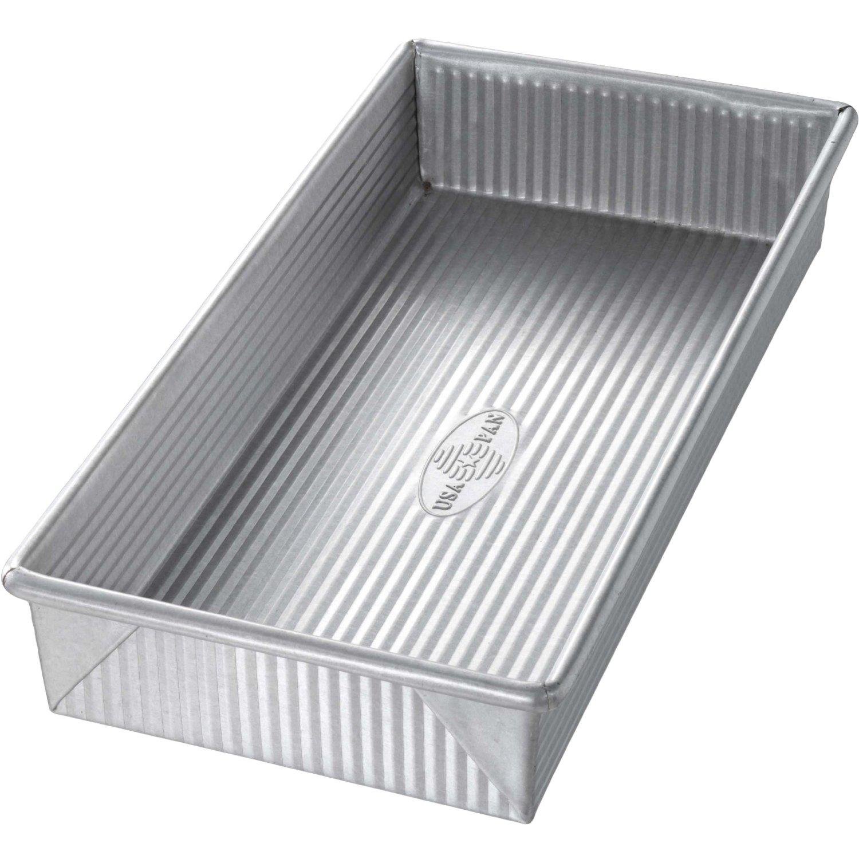 USA Pan Aluminized Steel Biscotti Pan, 12 Inch