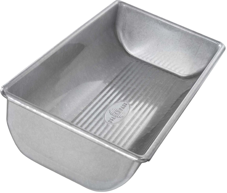USA Pan Aluminized Steel Hearth Bread Pan, 12 Inch