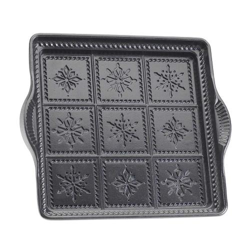 Nordic Ware Cast Aluminum Snowflake Shortbread Pan