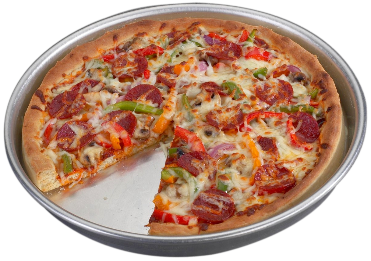 Nordic Ware Aluminum Deep Dish Pizza Pan, 14 Inch