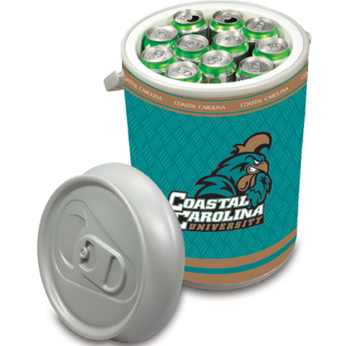 Picnic Time Coastal Carolina Chanticleers Mega Can NCAA Insulated Cooler, 5 Gallon