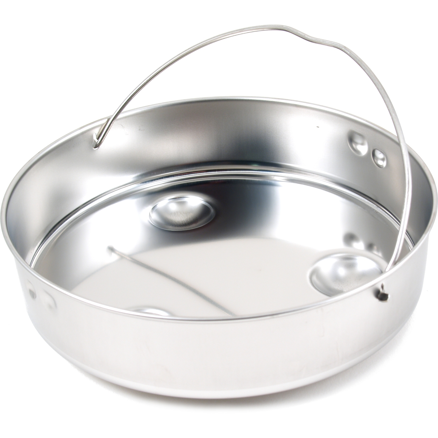 WMF Perfect Plus Solid Stainless Steel Insert for 4.5 Quart, 6.5 Quart, and 8.5 Quart Pressure Cookers