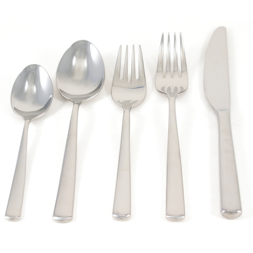 WMF Manaos Stainless Steel 5 Piece Flatware Place Setting, Service for 1