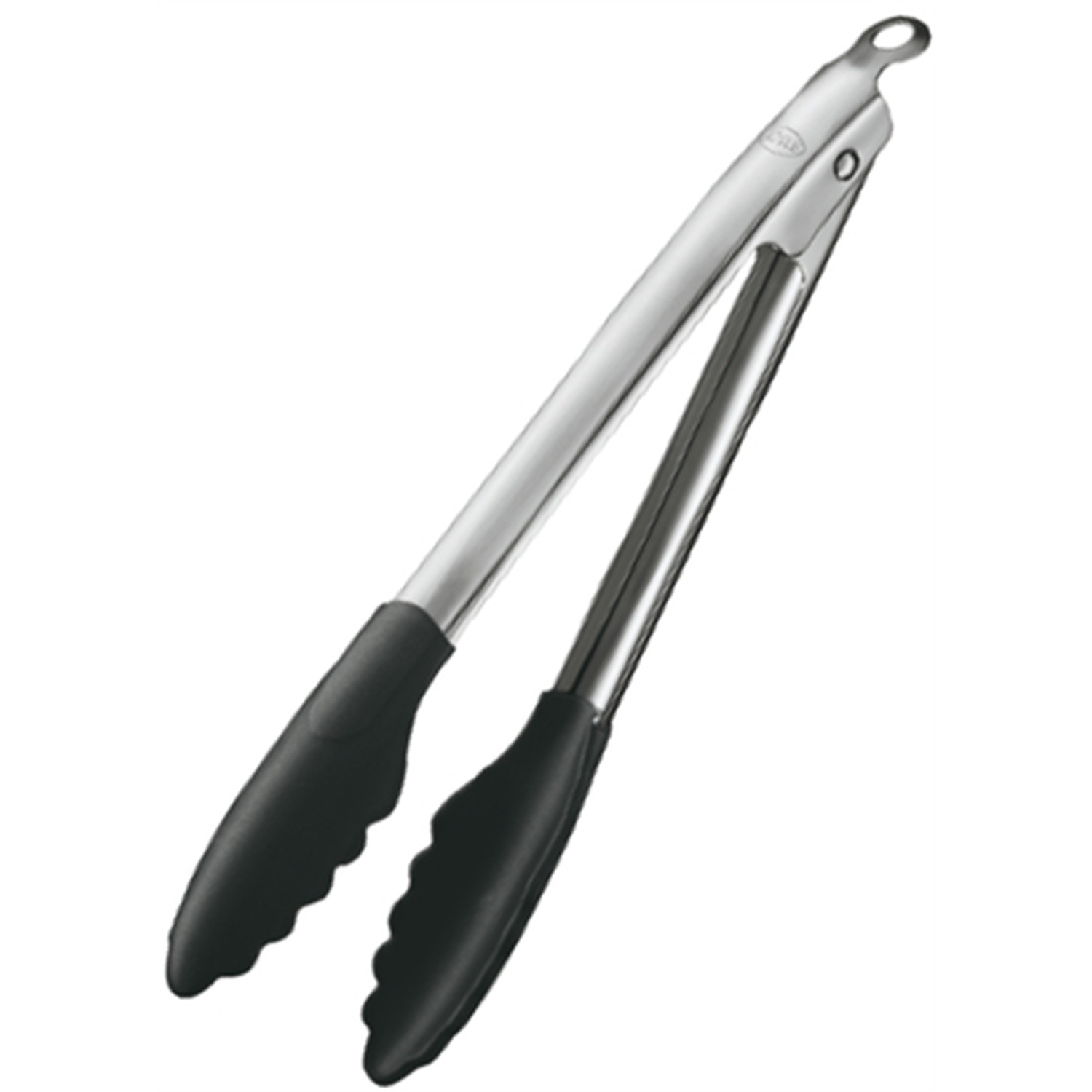 Rosle Stainless Steel and Silicone Locking Tongs, 12 Inch