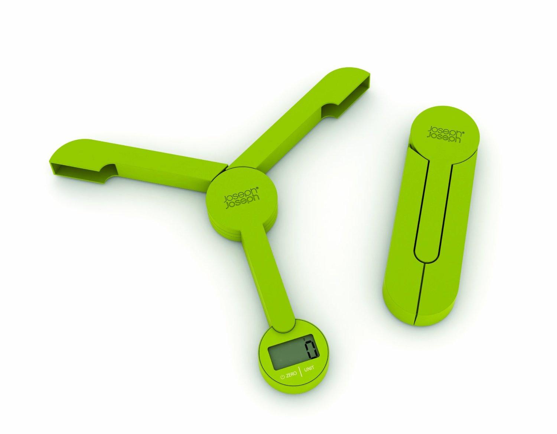 Joseph Joseph TriScale Green Compact Folding Digital Scale