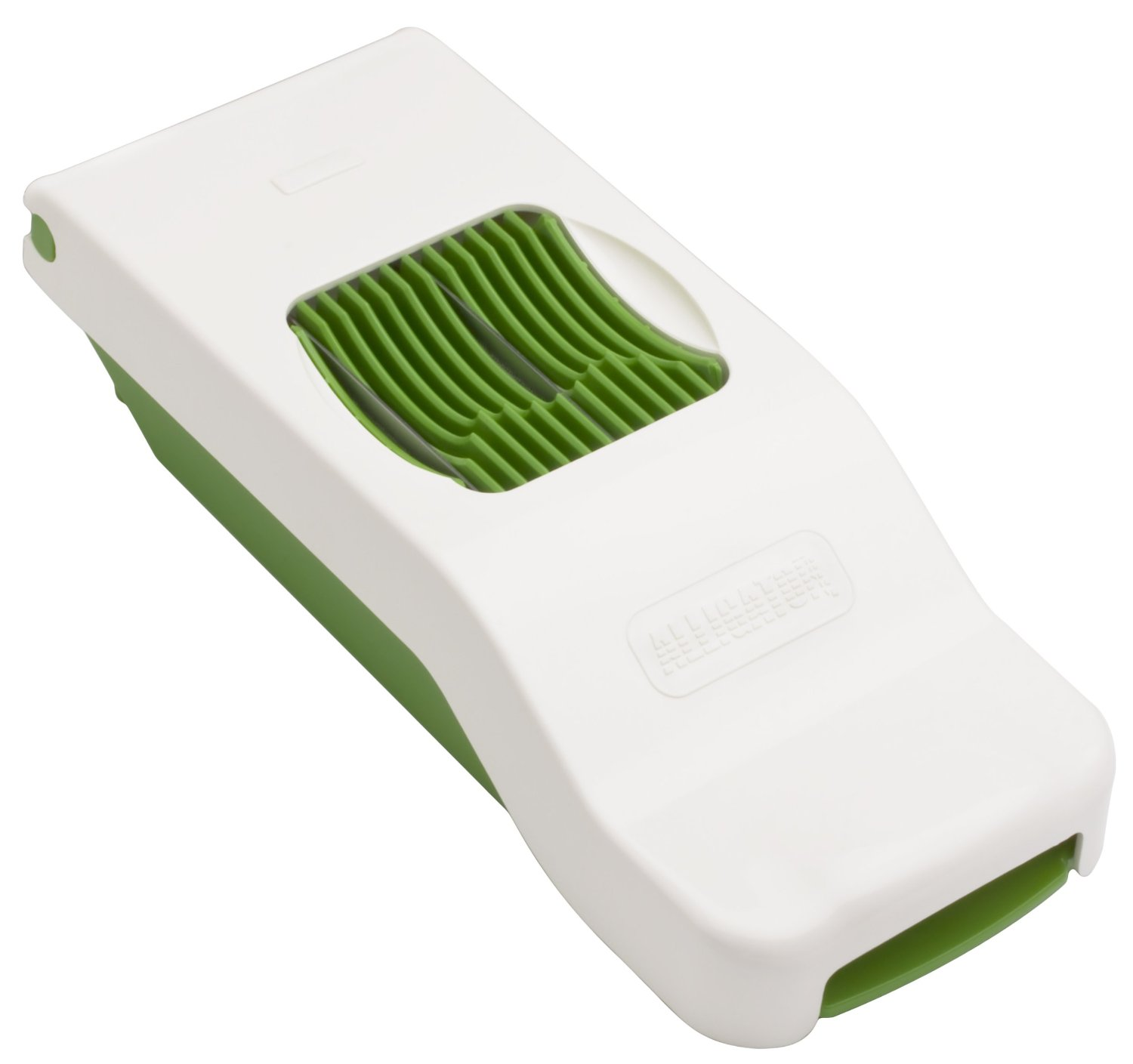 Green and White Alligator Slicer