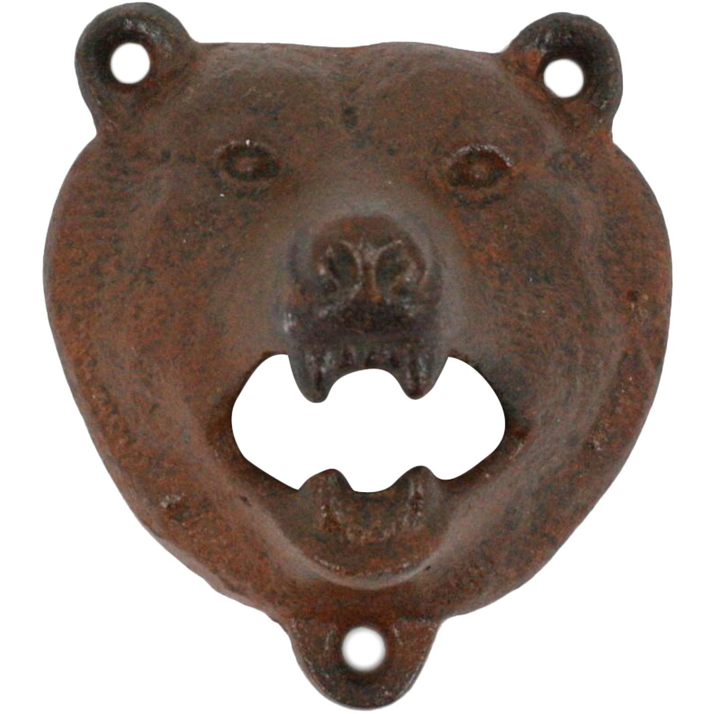 Homart Cast Iron Bear Bottle Opener