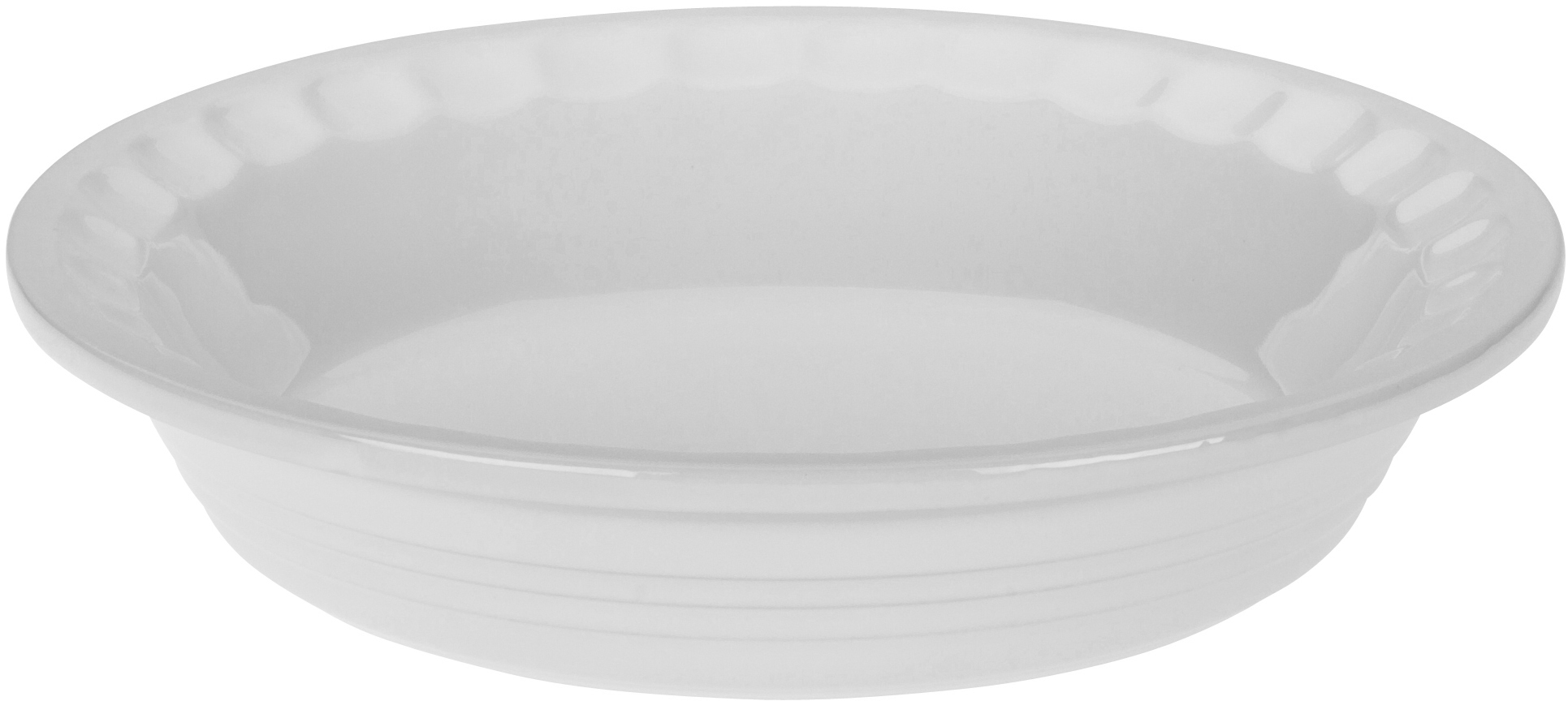 Le Creuset Heritage White Stoneware Pie Pan, 5 Inch
