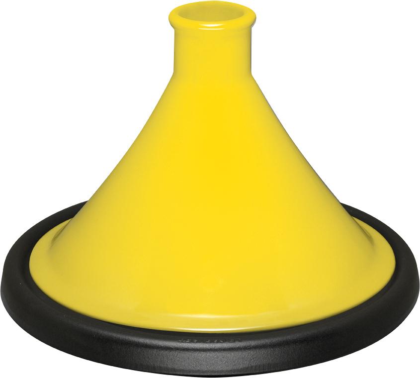 Le Creuset Soleil Yellow Enameled Cast Iron Moroccan Tagine, 2 Quart