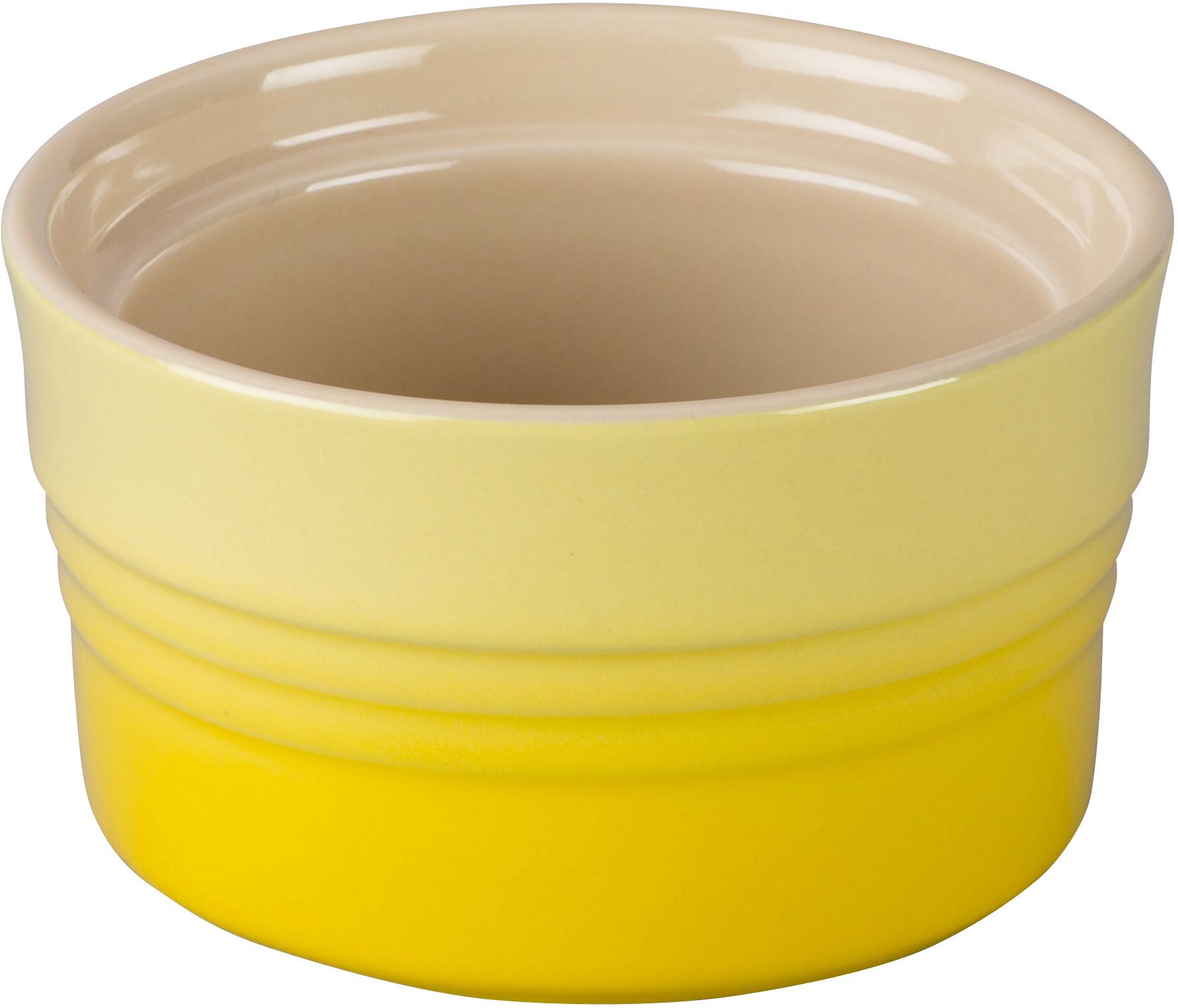 Le Creuset Soleil Yellow Stoneware Stackable Ramekin, 7 Ounce