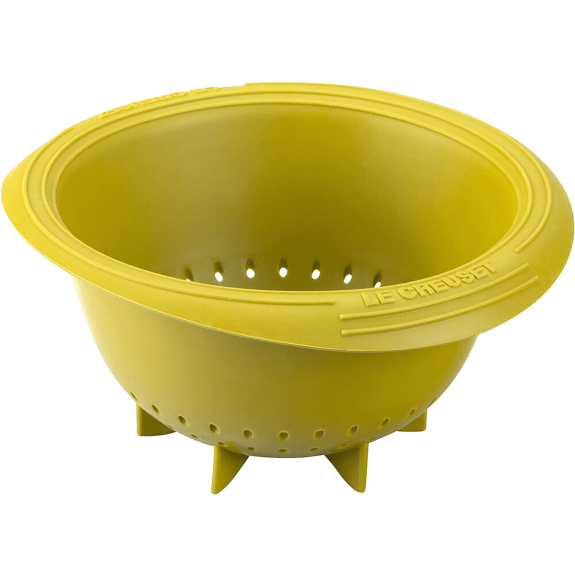 Le Creuset Soleil Yellow Silicone Berry Colander