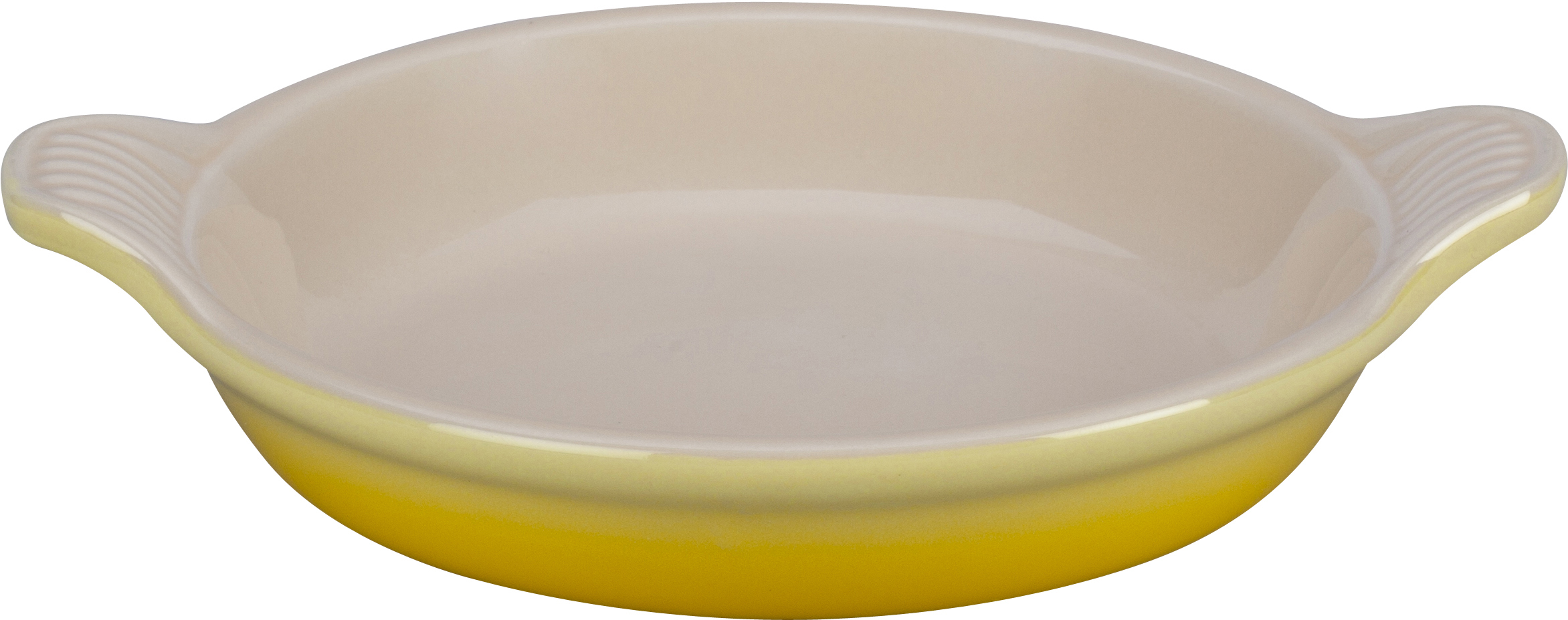 Le Creuset Soleil Yellow Stoneware Creme Brulee Dish, 7 Ounce