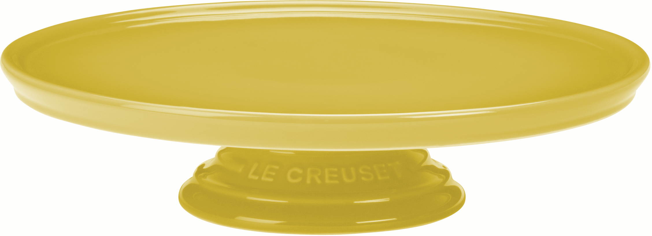 Le Creuset Soleil Yellow Stoneware Cake Stand