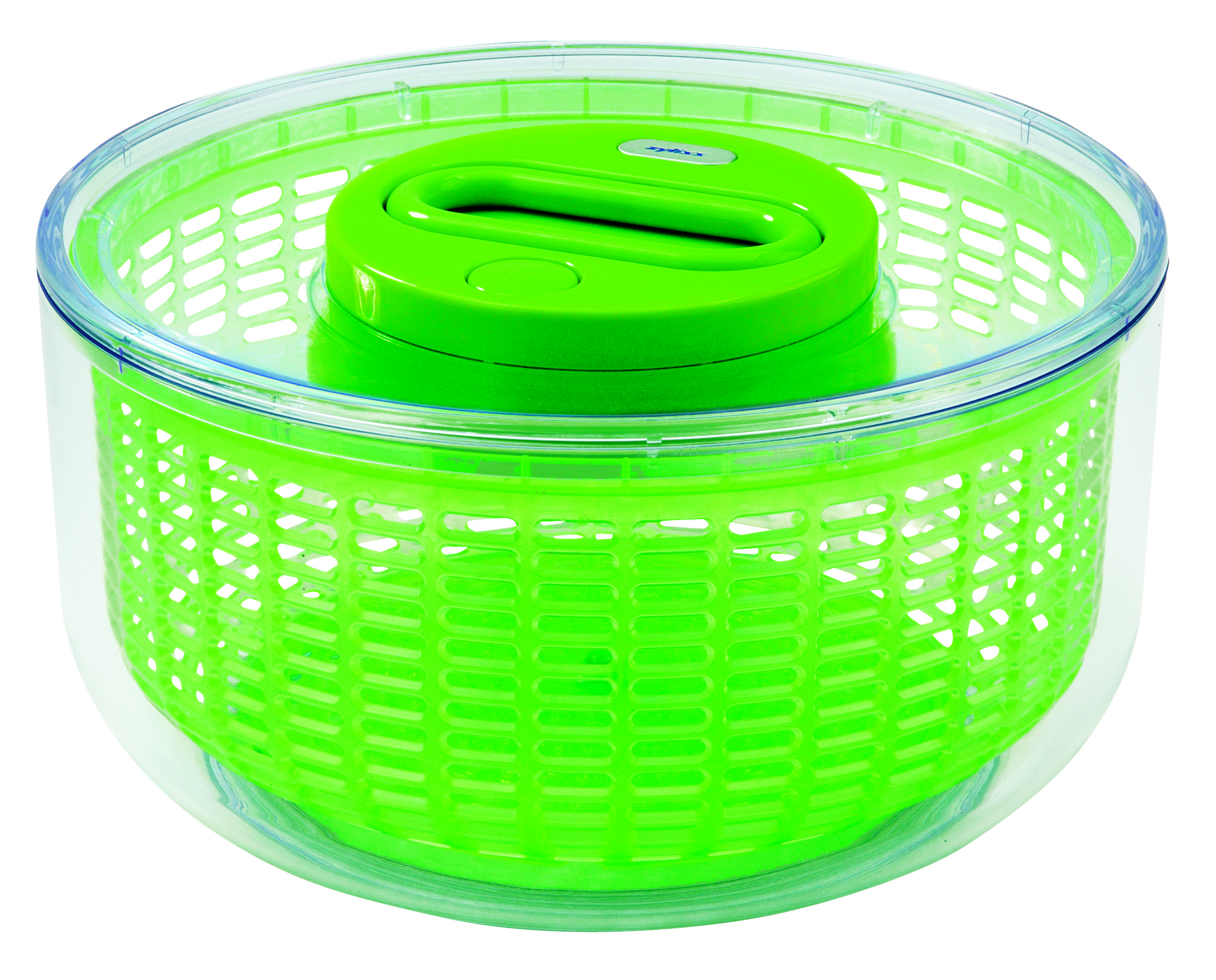 Zyliss Easy Spin Green 4-6 Serving Salad Spinner