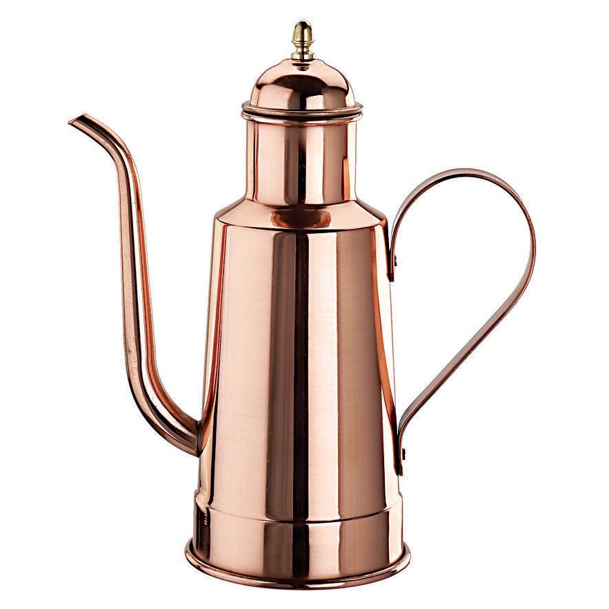 Paderno World Cuisine Copper and Tin Oil Dispenser, 0.5 Quart