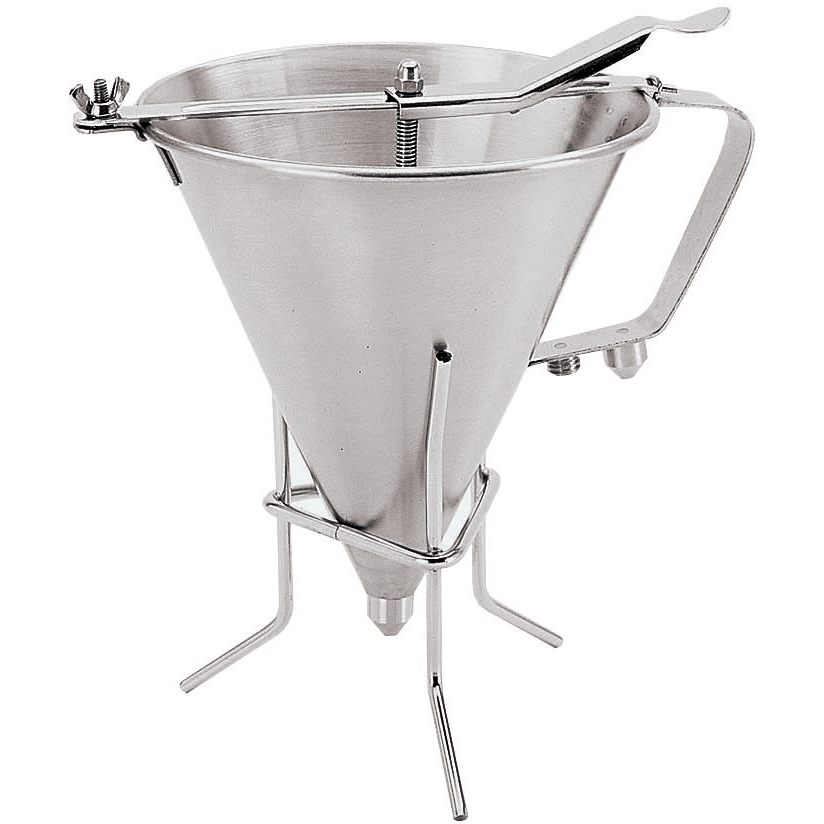 Paderno World Cuisine Stainless Steel Automatic Confectionery Funnel