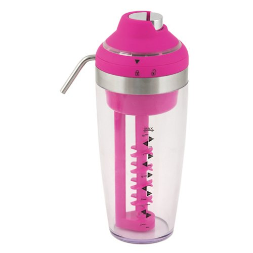 True Fabrications Vortex Electric Pink Cocktail Mixer and Dispenser