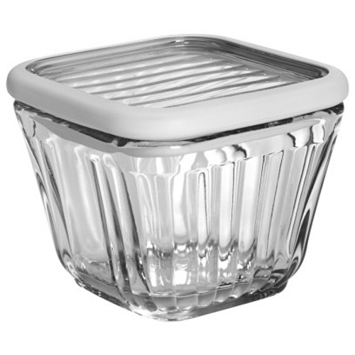 Anchor Hocking Bake 'N' Store Glass Dish and Lid with Silicone Gasket Sleeve, 2 Cup