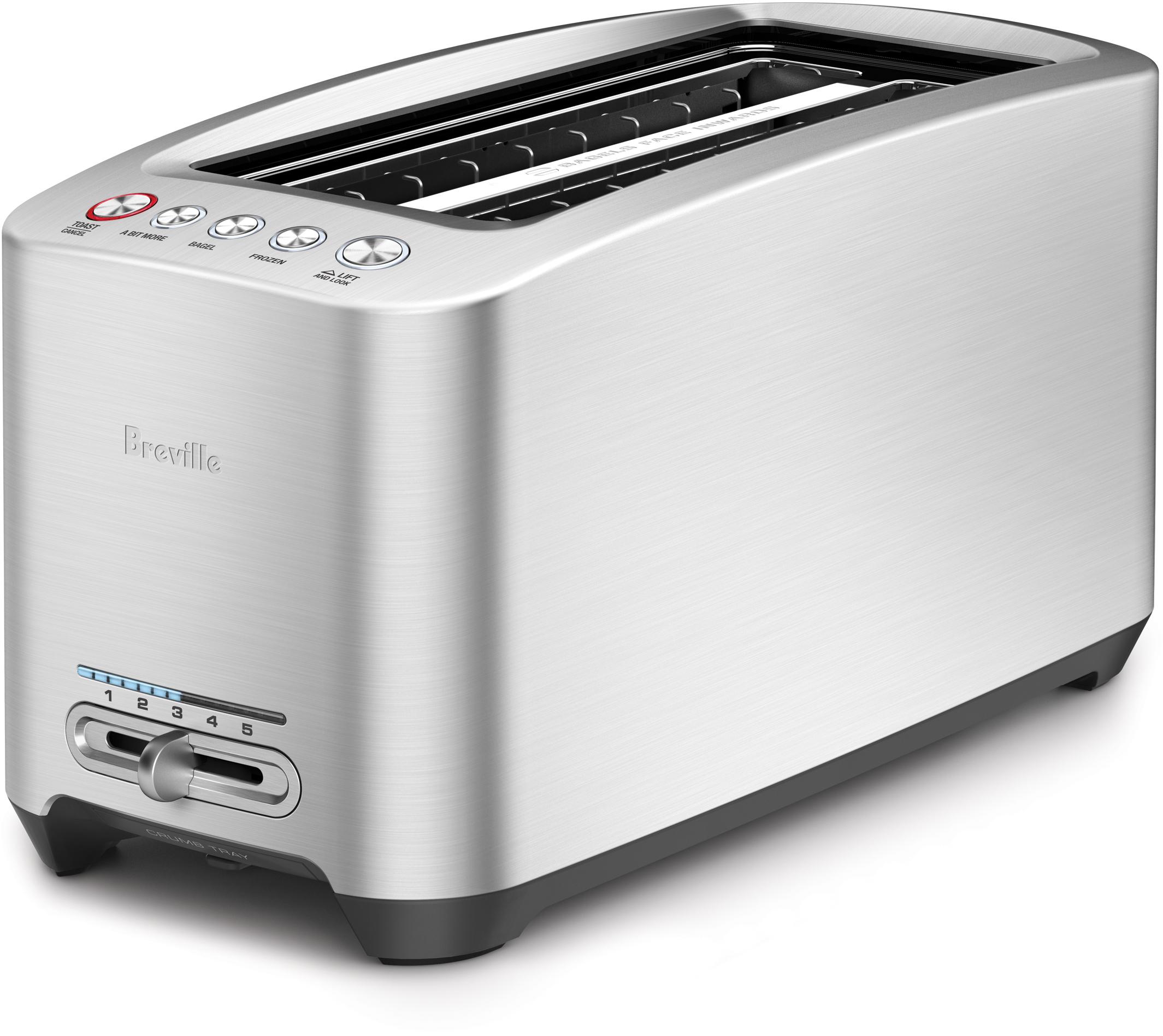 Breville Die-Cast 4 Slice Long Slot Smart Toaster