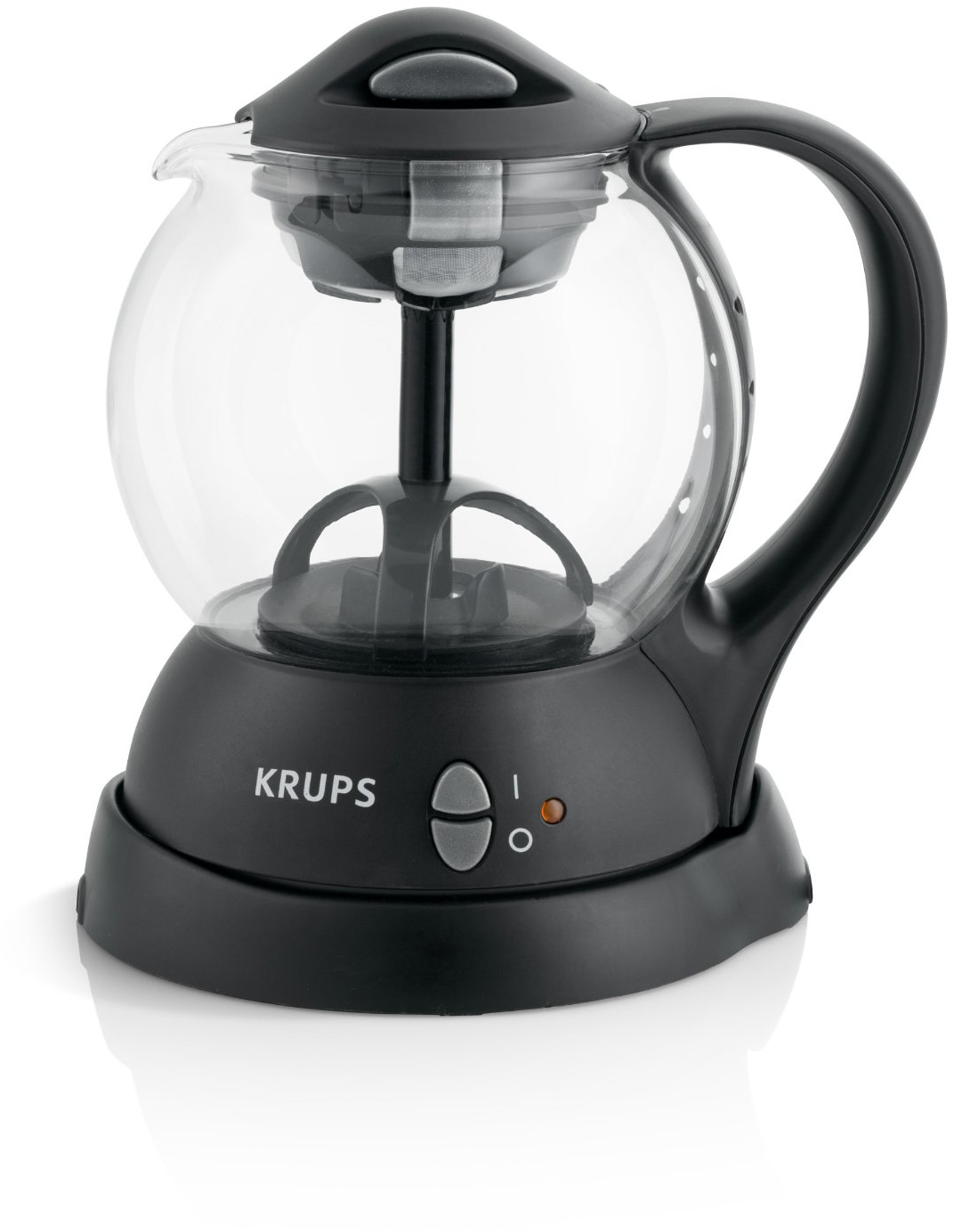 Krups Electric Tea Kettle with Integrated Infusion Basket, 1 Liter
